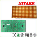 High quality 32*16 Semi-outdoor P10 Amber LED Display Module