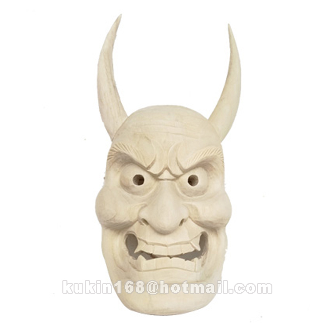 Wooden mask, Wooden handicraft, Holiday decorations