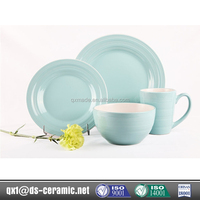 2015 Hot selling custom opal glassware dinner set