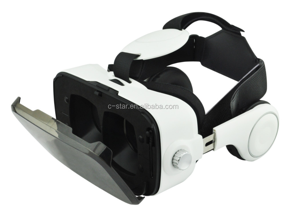 2017 Hot sales item 3D VR glasses with earphone for smart phone