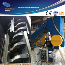 PP raffia plastic sheet crusher