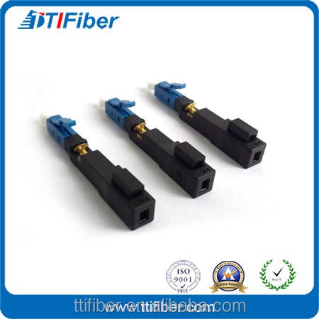 FTTH Drop Cable LC/UPC SM Optical Fiber Fast Connector