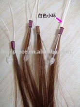 silky straight wave/easy loop human hair extension/micro-ring human hair extension/wig