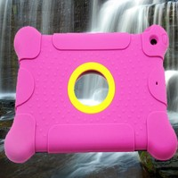Anti-throw Shock/Waterproof Silicone Back Case/Cover For iPad Mini