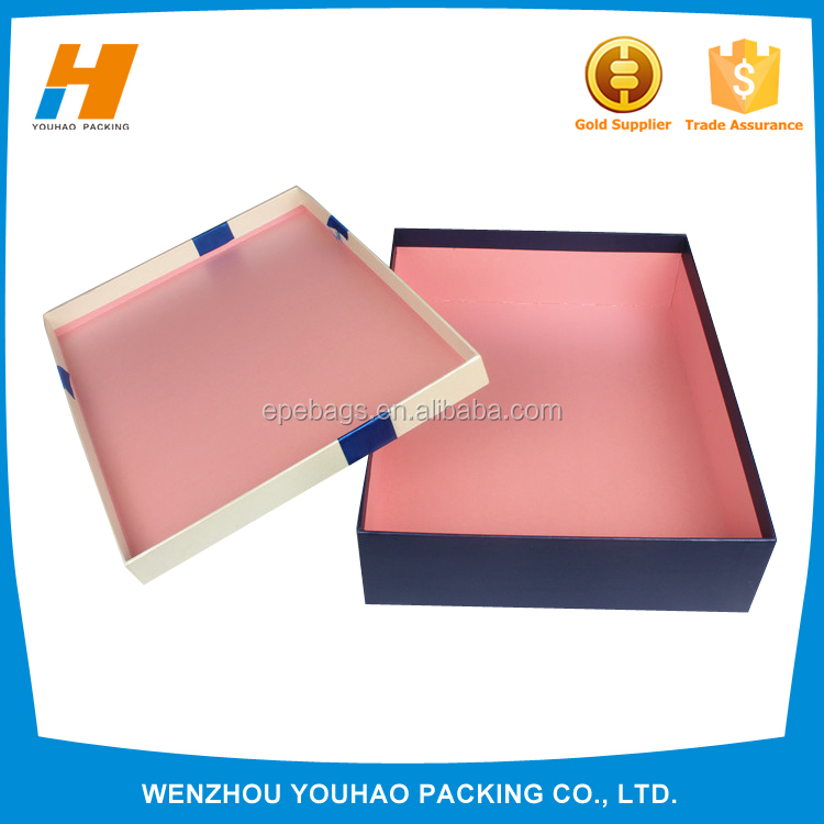 Fashion Luxury Gift Paper Box For Garments, Clothing Boxes , Custom Box Printing For Packing