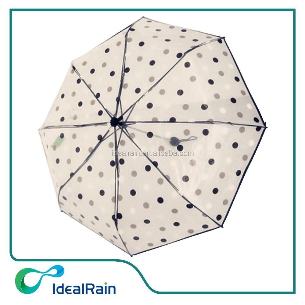 hot sell folding clear umbrella