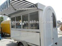 YS-FT280C Strong Steel Mould juice bar kiosk ice cream vans
