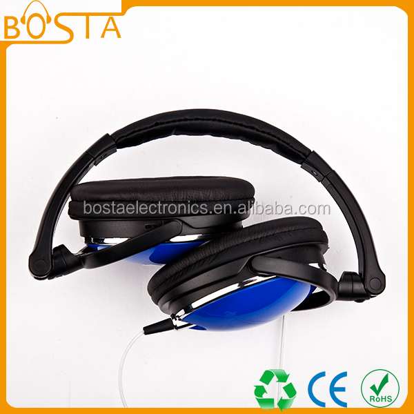 Bulk sale aviation mobile phone accessory top 10 folding headset for music