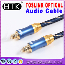 High-end 1 m Digital Optical toslink kabel Audio penguat daya tinggi