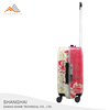Good Quality Silver ABS Trolley Luggage With Telescopic Handle