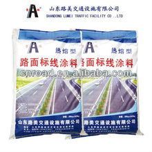 low price white thermoplastic hot melt road marking paint