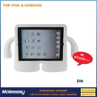 Heavy case eva case for tablet for ipad 3 4