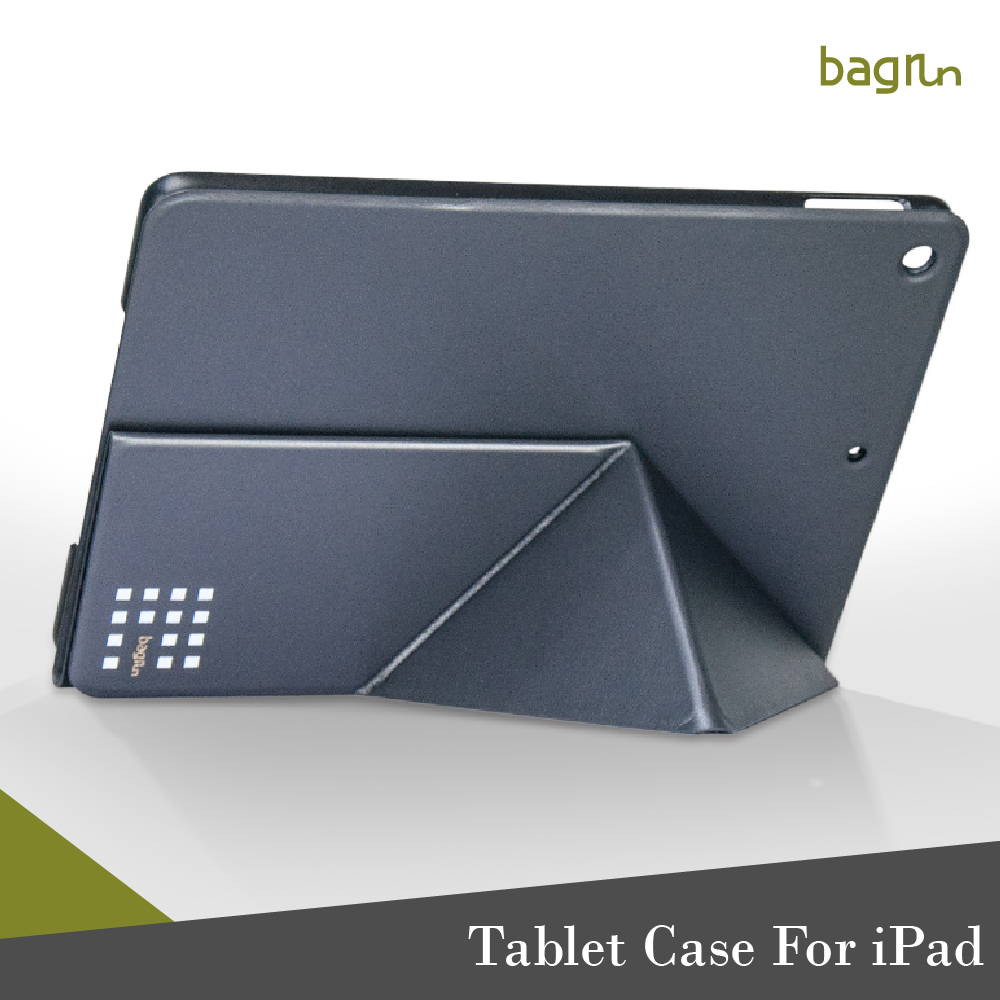 New Luxury Design PU Leather Stand Function Tablet Cover For iPad