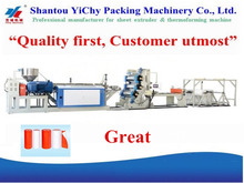 YC135-900 Higher Output New plastic extruder machine