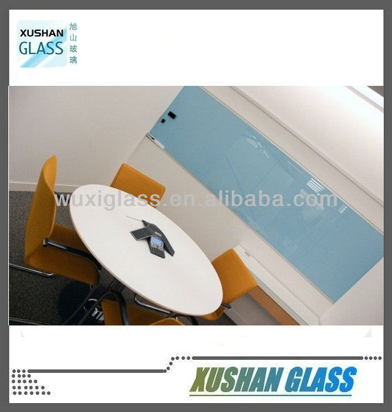 Office, school glass writing board with toughened glass