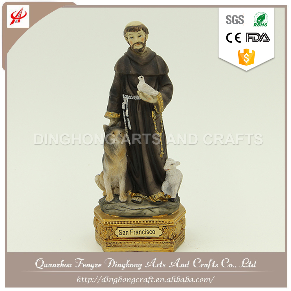 Wholesale Home Decoration,Resin Figures Religious Alloy Statues