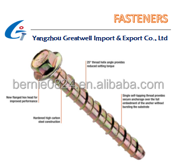 Hardware Factory Fasteners Concrete Bolts