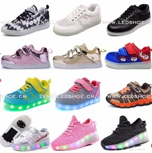 2017 christmas and new year new fashion perfect gifts led color flash shoes