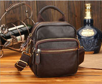 leather waist bag fashion top quality leather luggage belt