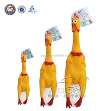 High quality rubber chicken toy & cheap rubber chicken for dog toy
