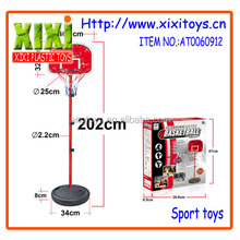 2016Newest plastic basketball set kids basketball hoop