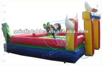 (Qi Ling)Hot selling inflatable bull riding