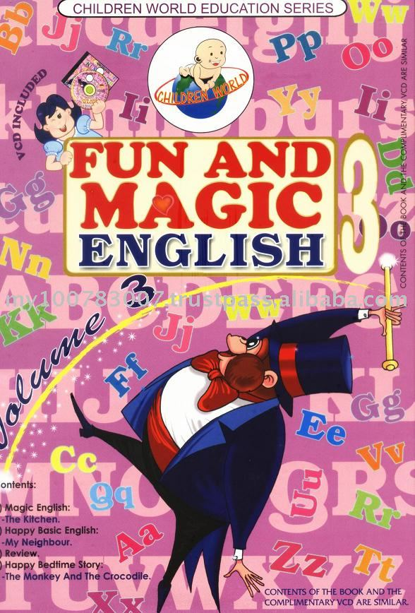 Children World Fun and Magic English Volume 3 books
