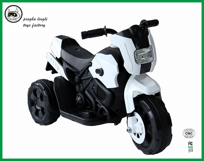 It is a new child motocycle with led light braking and forward function
