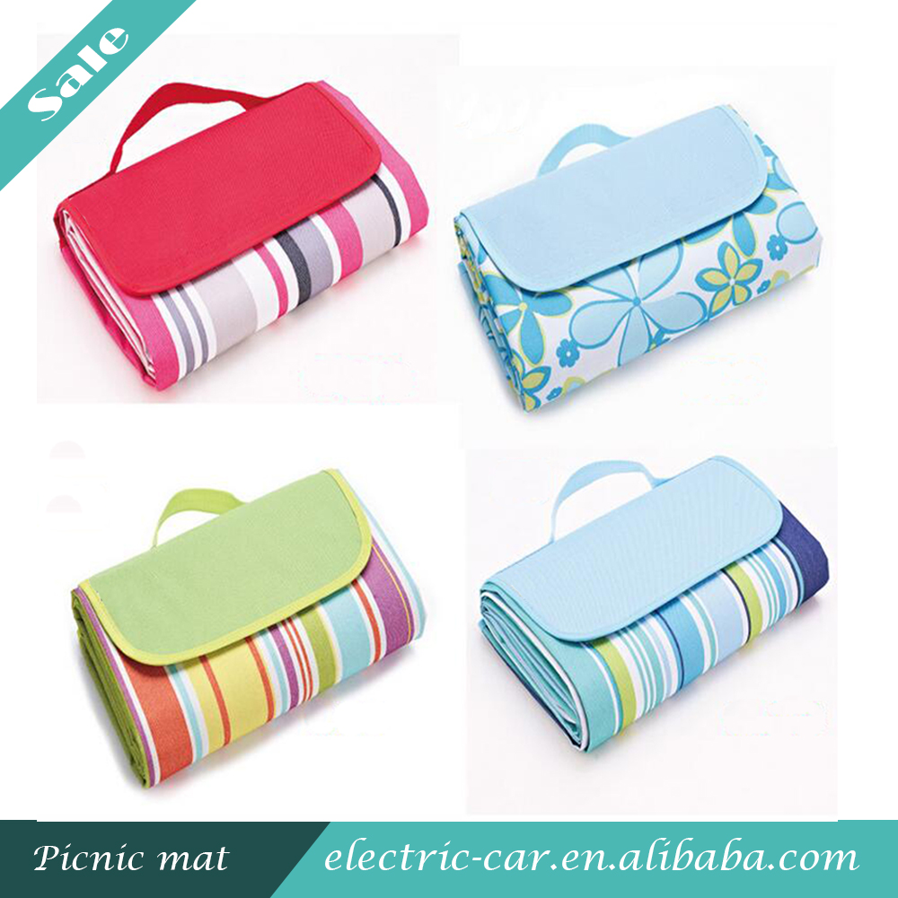 Wholesale Waterproof Outdoor Folding Picnic Mat Camping Pocket Blanket