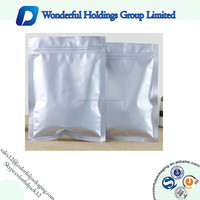250g Reusable plain matte aluminum foil thermal bags for coffee bean