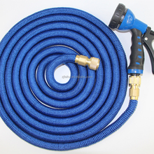 Expandable Hose 2018 NEW Best Garden Water Hose Flexible magic hose with solid brass fitting for watering