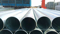 chinese hot dipped galvanized steel pipe/large diameter drain pipe