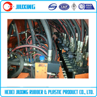 2015 Factory hot sale high pressure hydraulic rubber industrial hose
