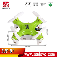 World Smallest 4CH 6axis micro mini RC DRONE JJRC DHD D1 Drone 6 axis aerocraft quadcopter mini ufo helicopter SJY-D1