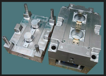 one station service electronical injection mould two shot 2K plastic injection molding