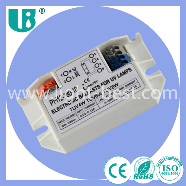 China wholesale 4w- 11w electronic ballast for uv light PH12-180-10 electronic adopter