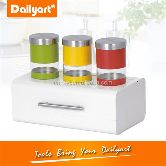 Summer stainless steel craft cake bin(V021042)