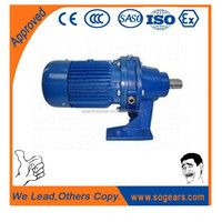 Original quality single reduction ratios planetary gearbox BWD/BLD52
