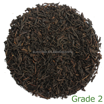 Made in China tea leaf manufacture black tea wholsale grade 2