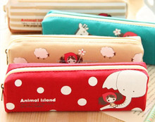 Zipper Pencil Case Cloth Fabric Canvas,Hello Kitty Pencil Case