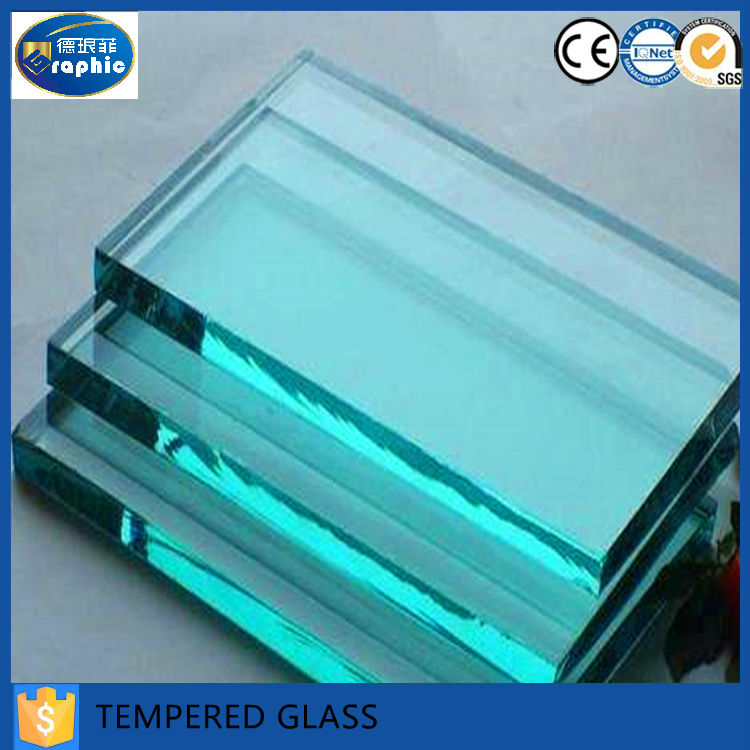 Clear tempered glass brick with cheap price for sale