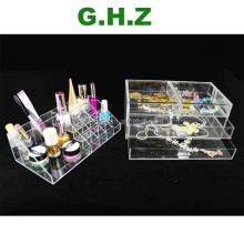 Custom 60 Compartment Acrylic Lipstick Holder Factory