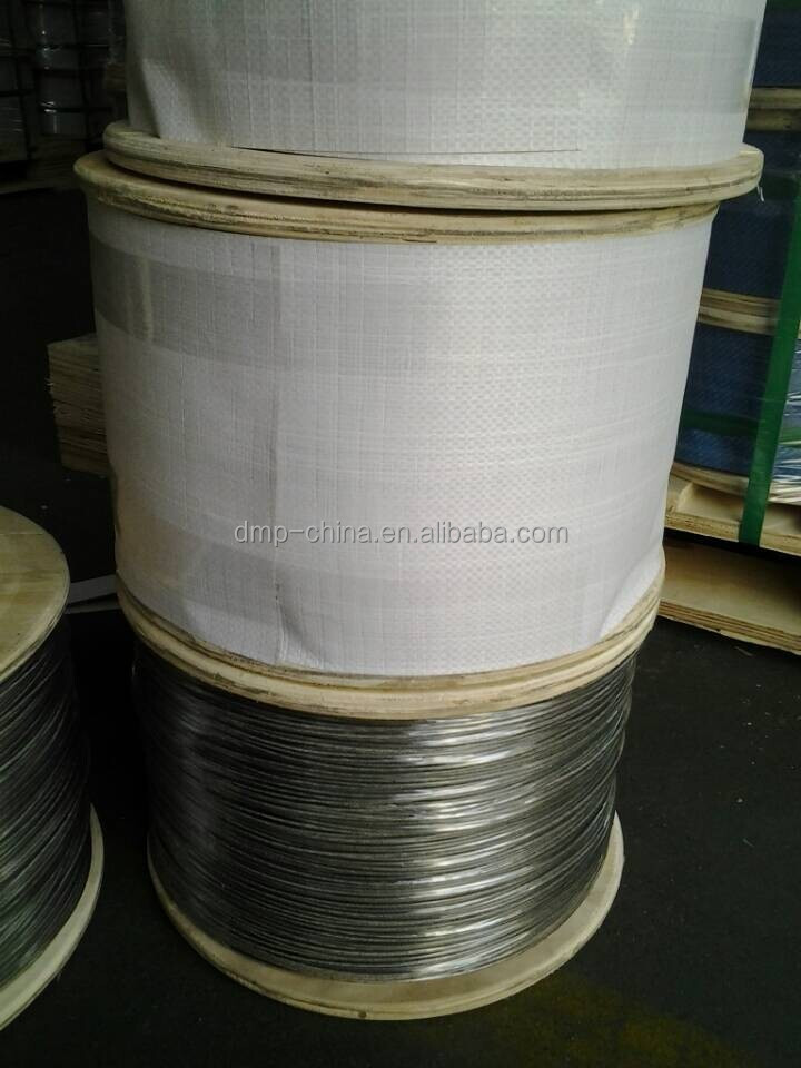1x7 0.3mm stainless steel wire rope