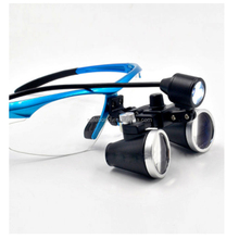Safebond portable led headlight magnifying glasses dental and surgical loupes zeiss