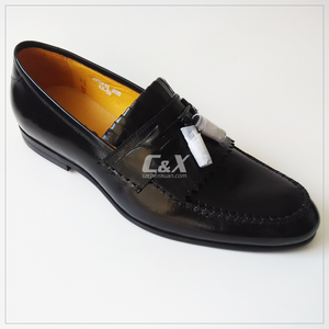 Men slip on Genuine Leather Shoe Men genuine leather Loafers