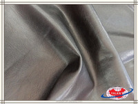 Shining CASCO grain washed pu imitation leather for garment and jackert
