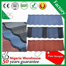 CE certificate roofing tiles blue metal Spanish roof tile