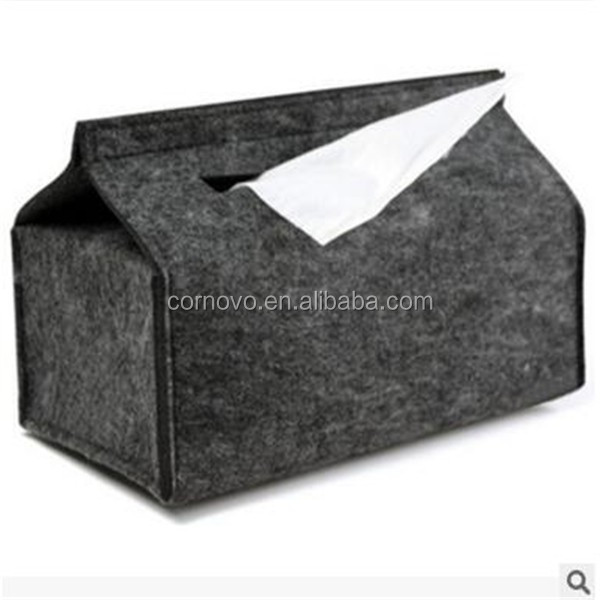 Best price polyester felt tissue box car for sale