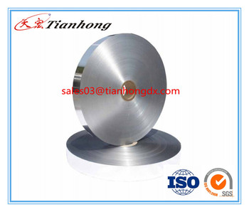 China specilized aluminum laminate film manufacturer alu foil tape for flexible ducts