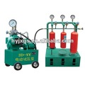 fire extinguisher testing-pressure test stand/fire fighting equipment